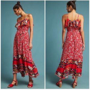 {Anthropologie} Floral Dress